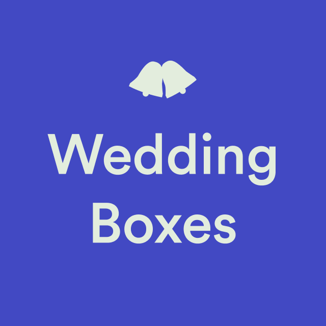 Wedding Boxes by Trouva