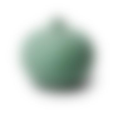 Lindform Ceramic Vase Bari Small Green Matt with Freckles