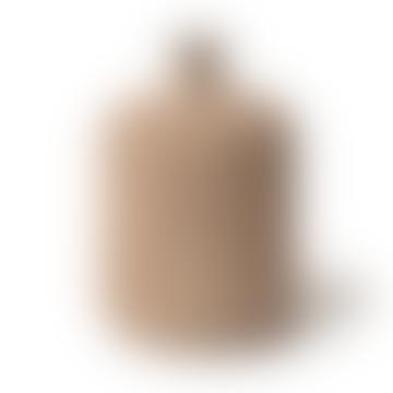 Lindform Ceramic Vase Bottle Medium Sand Stripe