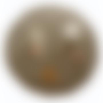 Grey Velvet Ruffle Playmat
