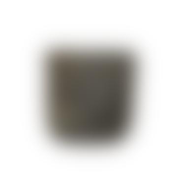 Gerd Large Textured Concrete Black Plant Pot