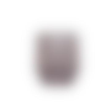 Molly Coloured Glass Tealight Holder Grey