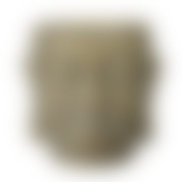 Wikholm Form Buddha Head Pot Gold Large
