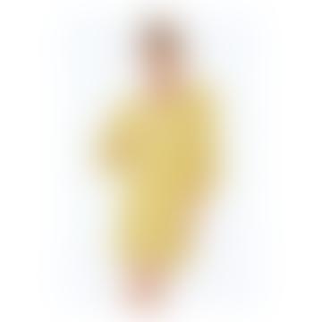 The Eedie Mini Dress In Emily Gold