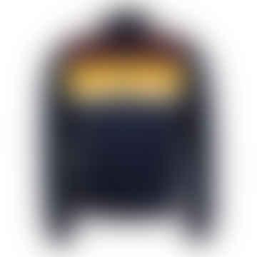 Colour Block Track Jacket Carbon Blue