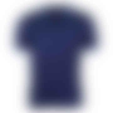 Twin Tipped Polo Shirt Dahlia/Black/Kingfisher