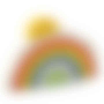 Wooden Rainbow Tunnel