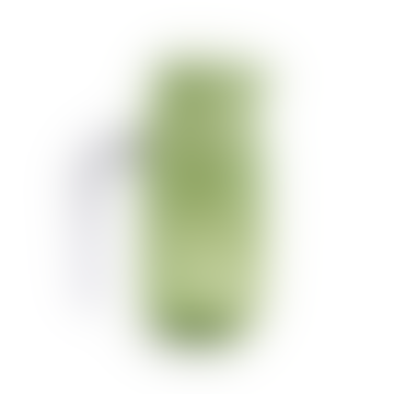 Jarra de vidrio de borosilicato verde L