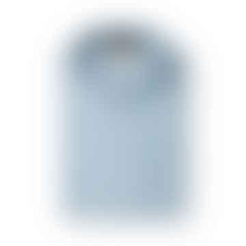Blue Pinstripe Adige Shirt