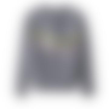 Charcoal Rib Sequin Jumper