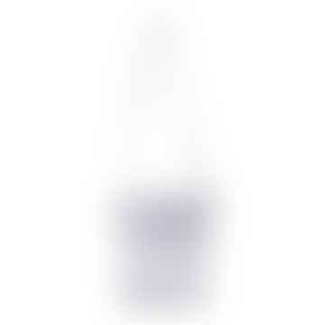 Sheer Silk(No-Bnag) Mini Shoulder Bag in Sky Grey