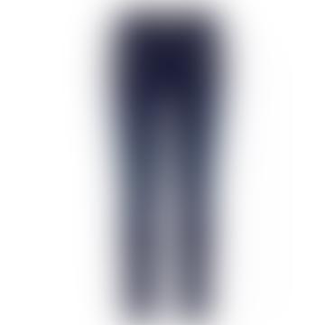 Dark Blue Charli Core Zip Jeans