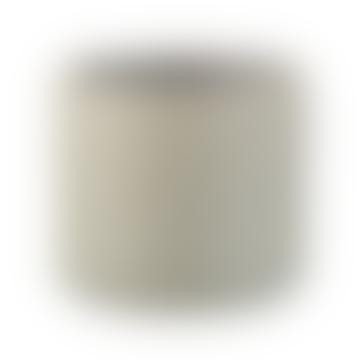 J-Line Rhombus Grey Ceramic Flower Pot Medium
