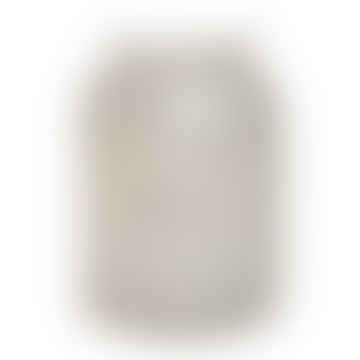 Mylie White Glass Stormlight Round Crackle S