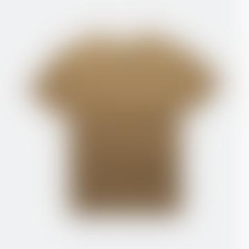 Premium Linen T Shirt Tobacco