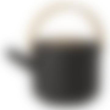1.25L Black Theo Teapot