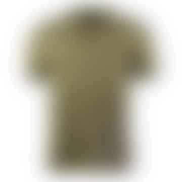 Twin Tipped Polo Shirt (Sage/Black)