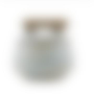 Grey Blue Storage Jar