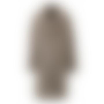 Dark Beige Cyber Teddy Bear Coat