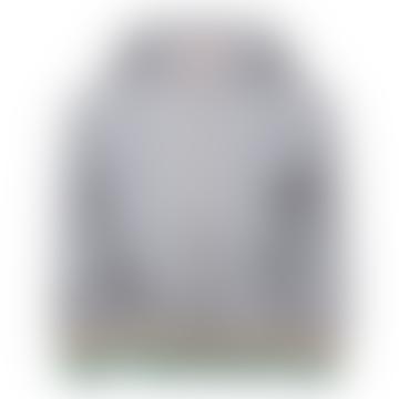 Washed Grey AO 76 Full Zip Hoodie Sweater