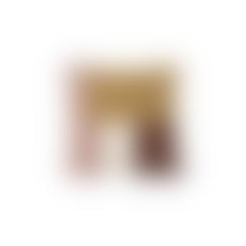 Shay Quilt Cushion 50x50 - Mustard, Cinnamon & Desert