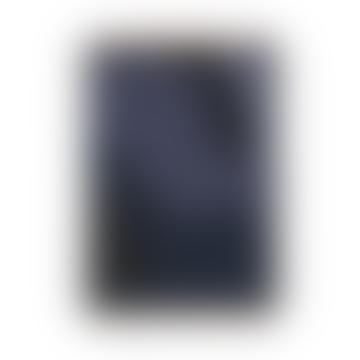Vista Cotton Blanket - Dark Blue or Off White