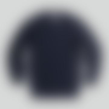 NN07 Jim Knit In Navy Blue