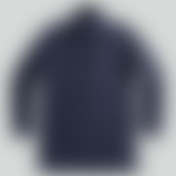 NN07 Blake Coat In Navy Blue