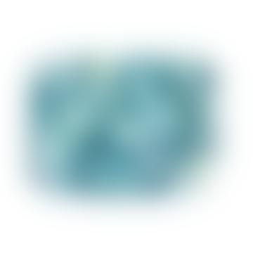 Studio Formata Rectangular Blue Aqua Breakfast Tray