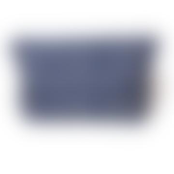 Scarlette Ateliers Medium Blue Marge Dressing Case