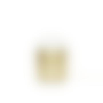 Hubsch Brass and Opal Table Lamp