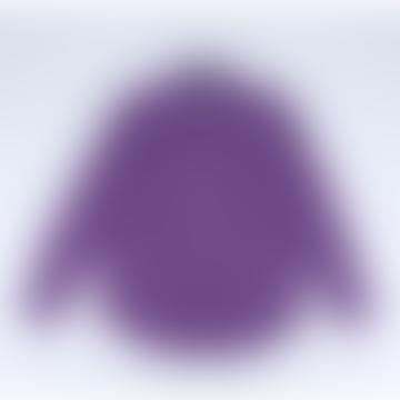 Lobo Purple Corduroy Shirt