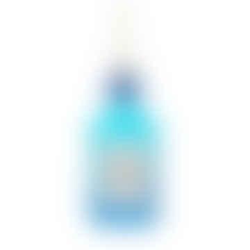 Blue Gin Bottle Glitter Bauble