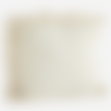 Ivory Large Textured Tassel Cushion