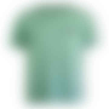 Yoik Short-Sleeved T-Shirt (Green Dusty)