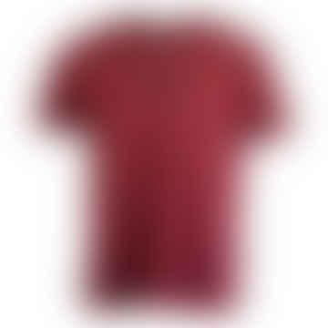 Box Short-Sleeved T-Shirt (Vintage Amaranth)