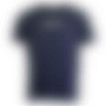 Box Short-Sleeved T-Shirt (Blue Nights)