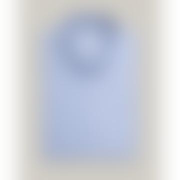 SLALOM RACE BLUE PRINTED SHIRT