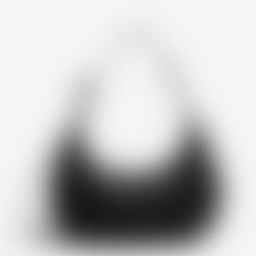 Baggu Black Medium Nylon Crescent Bag