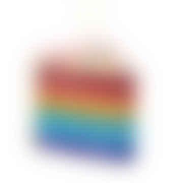 Rainbow Cake Bauble