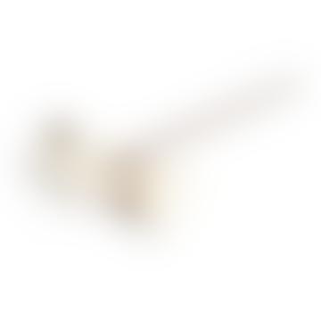 White Japanese Cat Incense Holder