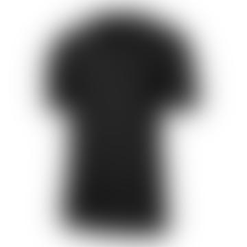 Pro Short Sleeve Top Black Grey