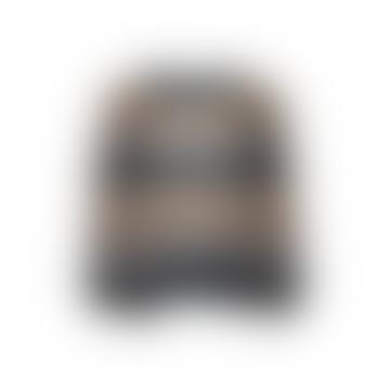 Stripe Knit Grey Brown