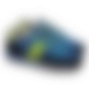 Saucony Originals Jazz Original Peak Sneakers (Blue/Black/Citron)
