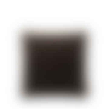 Cozy Living soft Velvet Cushion, dark chestnut 50cm x 50cm