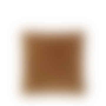 soft Velvet Cushion, cumin 50cm x 50cm