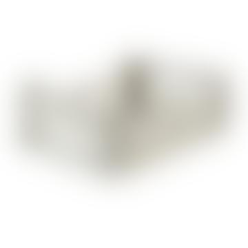 Feather & Nest Midi Folding Storage Crate Light Grey