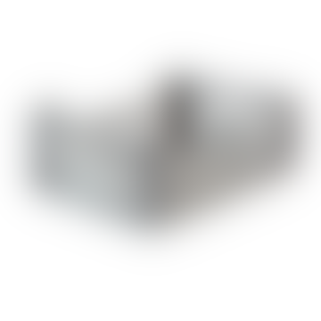 Feather & Nest Midi Folding Storage Crate Grey