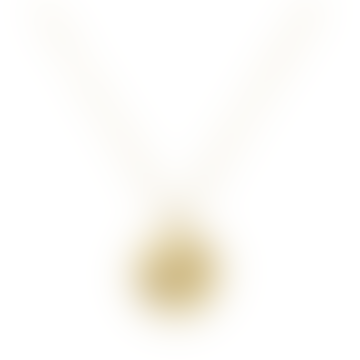 Silk Necklace Gold