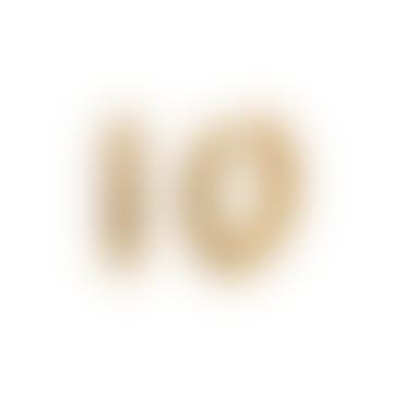 Madeleine Hoops Gold